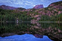 Bear Lake, summer, national park, Colorado