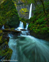 oregon, columbia, river, gorge, rain, mist, waterfalls