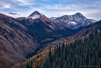 mountains, Colorado, Capitol Peak