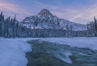 Mt. Chephren, Sunrise