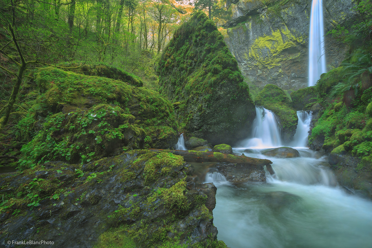 oregon, columbia, river, gorge, rain, mist, waterfalls, photo