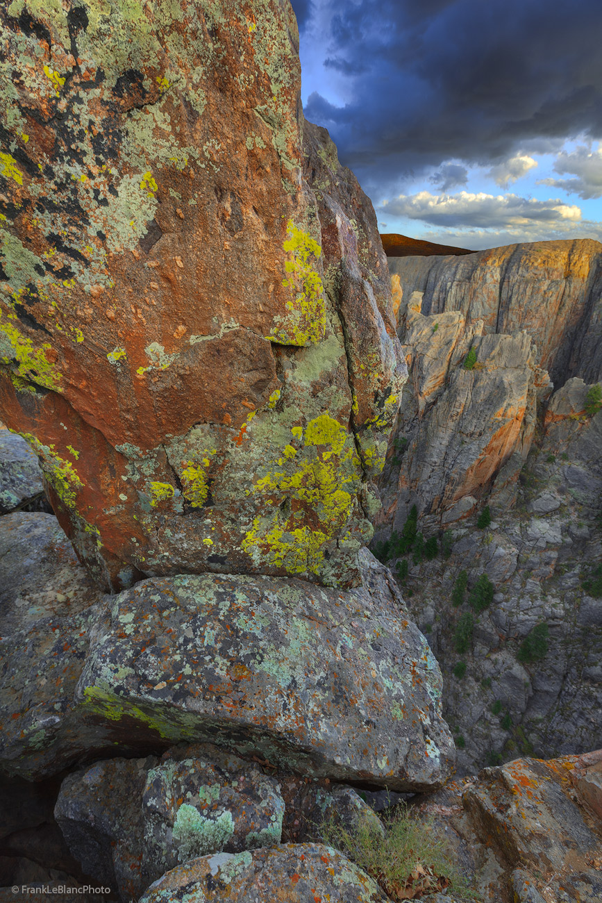 canyon, park, national, rock, beautiful, texture, color, lichens, sunset, abyss, depth, photo