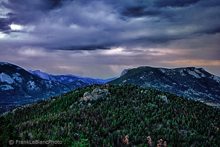 storms, national parks, Colorado , photo