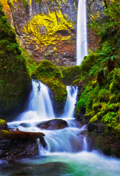waterfalls, Oregon, spring , photo